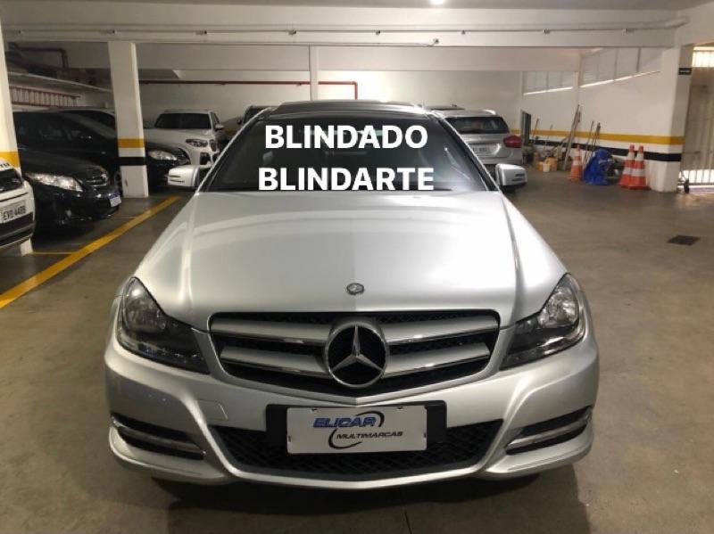 Mercedes-Benz-C 180-1.8 CGI TOURING 16V TURBO GASOLINA 4P AUTOMÁTICO