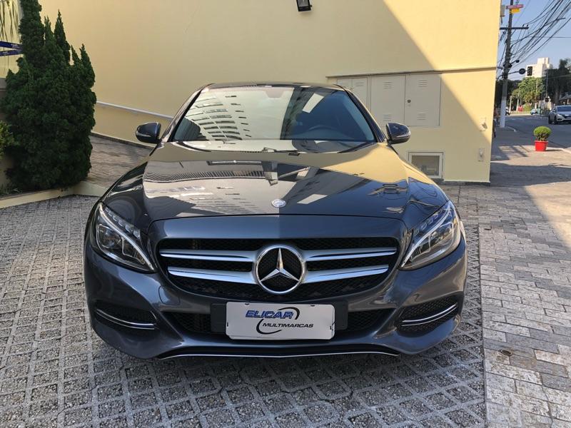 Mercedes-Benz-C 180-1.6 CGI AVANTGARDE 16V TURBO GASOLINA 4P AUTOMÁTICO