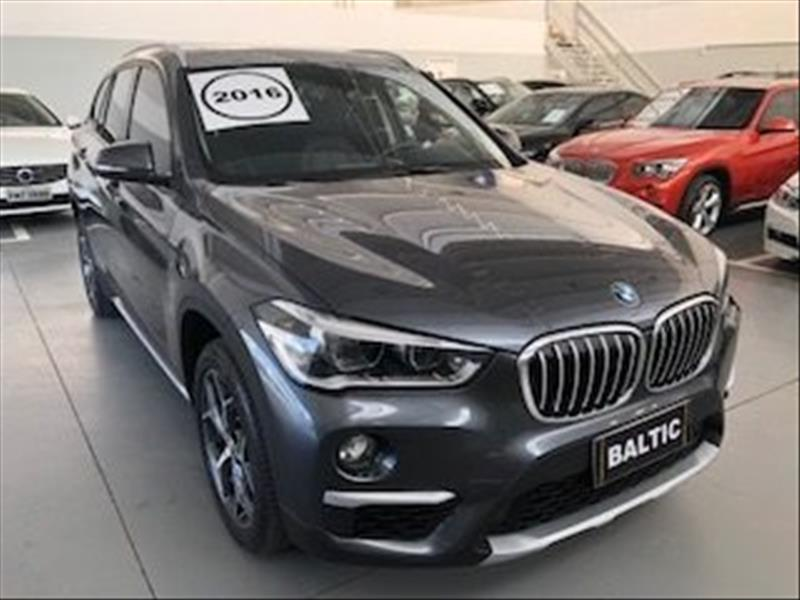 BMW X1 2.0 16V Turbo Activeflex Sdrive20i 2016/2016 Cinza
