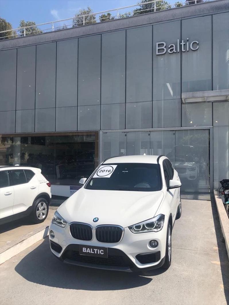 BMW X1 2.0 16V Turbo Activeflex Sdrive20i 2016/2016 Branco