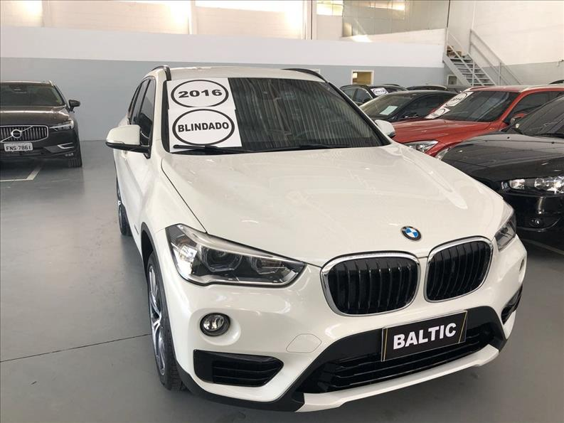 BMW X1 2.0 16V Turbo Activeflex Xdrive25i Sport 2016/2016 Branco