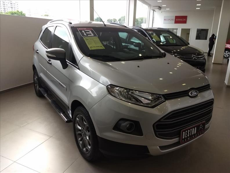 FORD ECOSPORT 1.6 Freestyle 16V 2012/2013 Prata