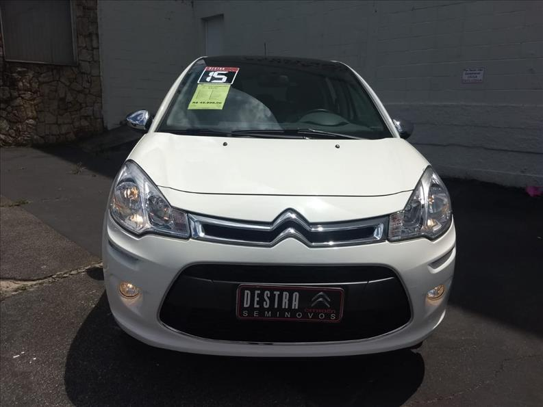 CITROËN C3 1.6 Exclusive 16V 2015/2015 Branco