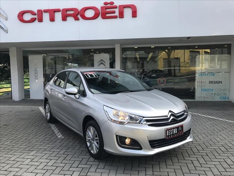 CITROËN C4 LOUNGE 1.6 Origine 16V Turbo 2017/2017 Prata