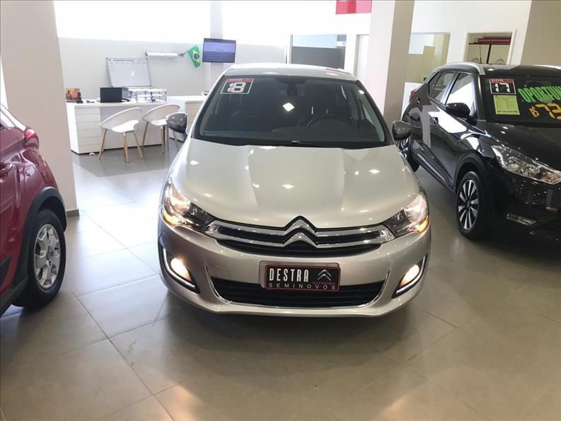 CITROËN C4 LOUNGE 1.6 THP Tendance Série S BVA 2017/2018 Prata