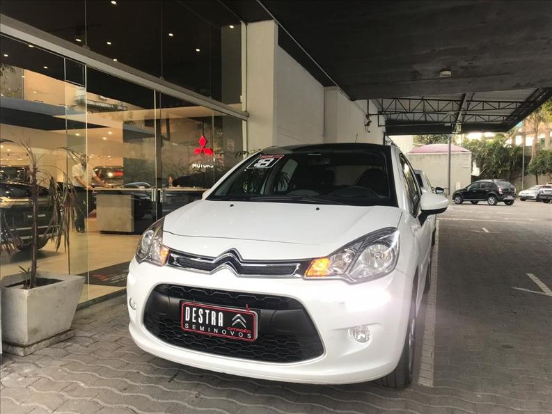 CITROËN C3 1.6 VTI 120 Tendance Eat6 2018/2018 Branco