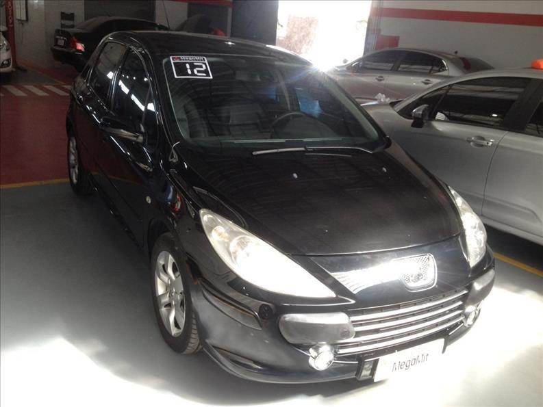 PEUGEOT 307 2.0 Premium 16V 2011/2012 Preto