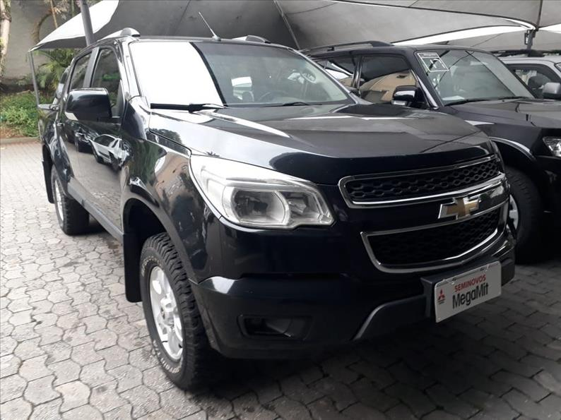 CHEVROLET S10 2.5 LT 4X4 CD 16V 2014/2015 Preto