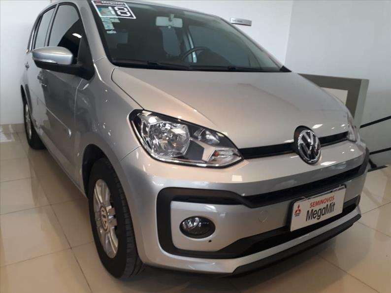 VOLKSWAGEN UP 1.0 MPI Move UP 12V 2017/2018 Prata