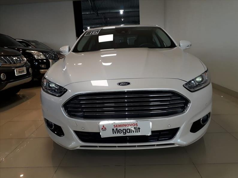 FORD FUSION 2.0 Titanium Plus 16V 2015/2016 Branco