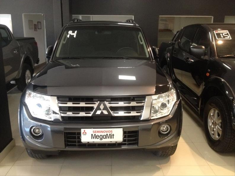 MITSUBISHI PAJERO FULL 3.2 HPE 4X4 16V Turbo Intercooler 2014/2014 Cinza