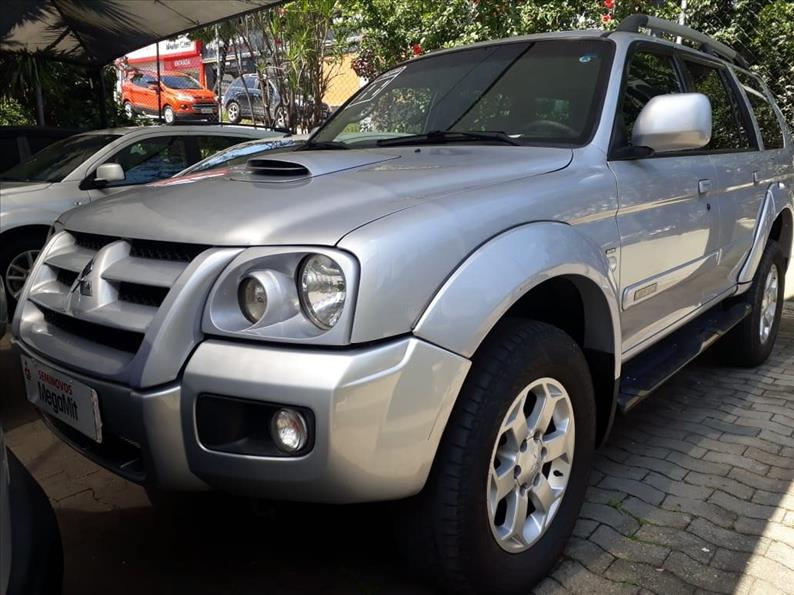MITSUBISHI PAJERO SPORT 3.5 HPE 4X4 V6 24V 2010/2011 Prata