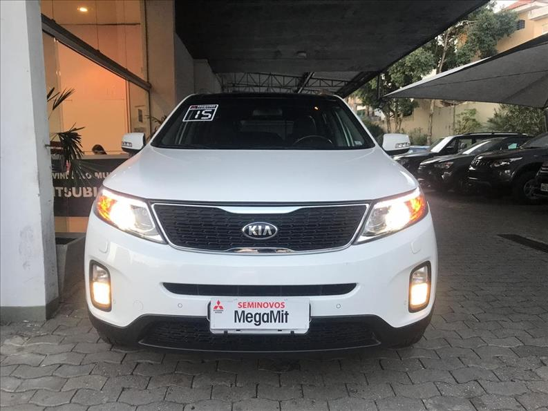KIA SORENTO 3.5 V6 EX 7L 4WD 2014/2015 Branco