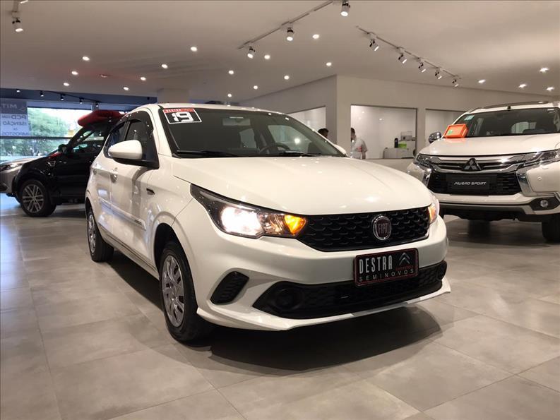 FIAT ARGO 1.0 Firefly Drive 2018/2019 Branco