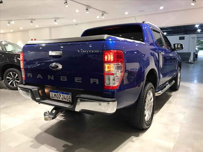 FORD RANGER 2.5 Limited 4X2 CD 16V 2018/2019 Azul