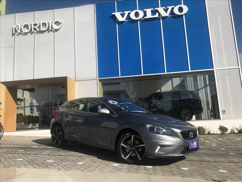 VOLVO V40 2.0 T5 R Design Turbo 2015/2016 Cinza