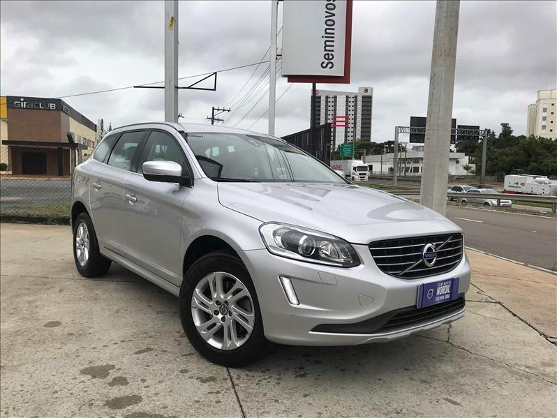 VOLVO XC60 2.0 T5 Kinetic 2015/2016 Prata