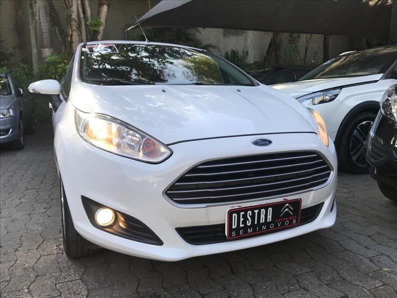 FORD FIESTA 1.6 SE Hatch 16V 2015/2015 Branco