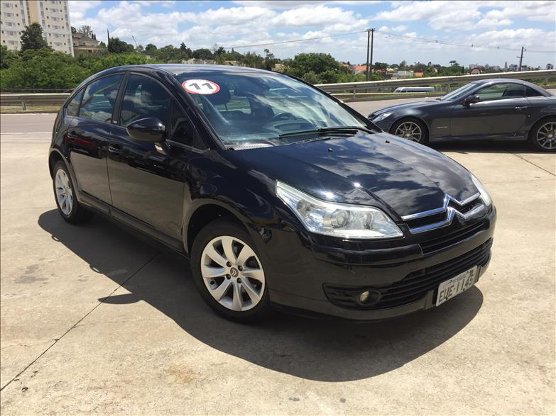 CITROËN C4 2.0 Exclusive 16V 2010/2011 Preto