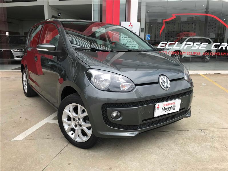 VOLKSWAGEN UP 1.0 MPI High UP 12V 2015/2016 Cinza