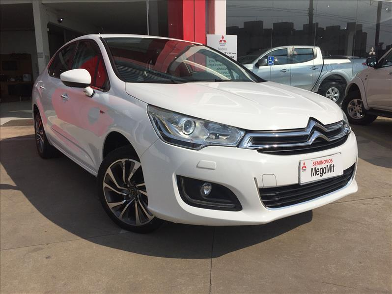 CITROËN C4 LOUNGE 1.6 Exclusive 16V Turbo 2016/2017 Branco