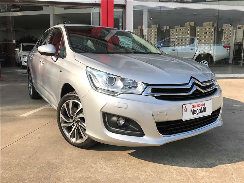 CITROËN C4 LOUNGE 1.6 Exclusive 16V Turbo 2016/2017 Prata