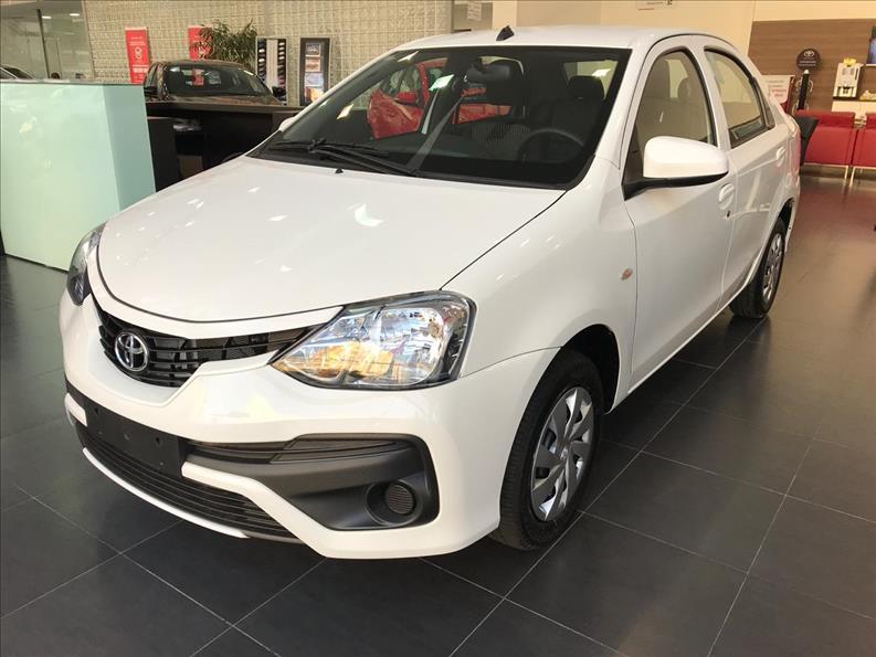 Toyota-ETIOS-1.5 X PLUS SEDAN 16V FLEX 4P AUTOMÁTICO