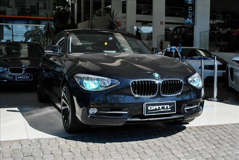 BMW-118I-1.6 URBAN LINE 16V TURBO GASOLINA 4P AUTOMÁTICO