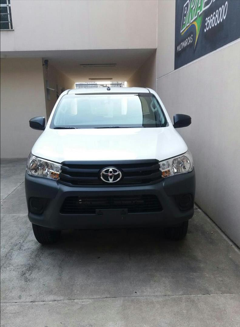 TOYOTA HILUX 2.8 4X4 CS 16V Turbo 2017/2017