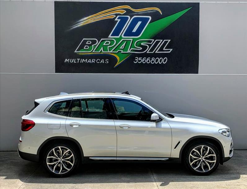 BMW X3 2.0 16V X Line Xdrive30i Steptronic 2019/2019