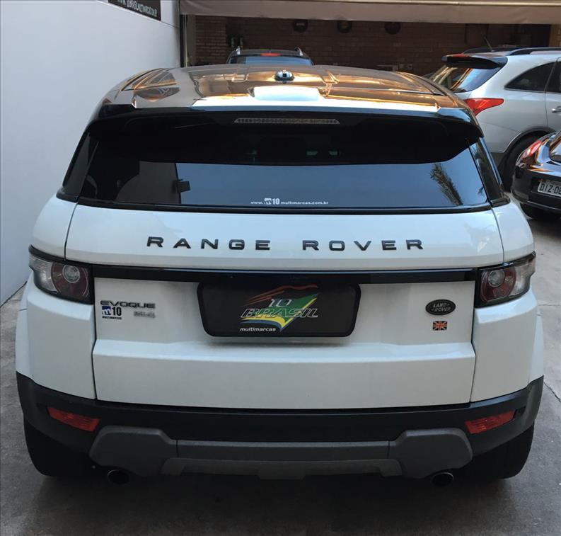 LAND ROVER RANGE ROVER EVOQUE 2.0 Pure Tech 4WD 16V 2013/2013
