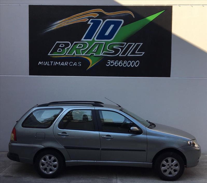FIAT PALIO 1.4 MPI Fire ELX Weekend 8V 2007/2007