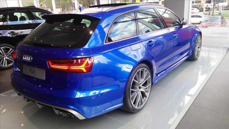 AUDI RS6 4.0 Avant V8 32V Bi-turbo 2017/2018
