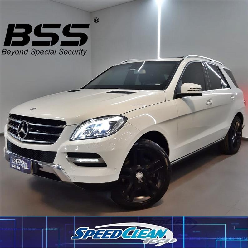 Mercedes-Benz-ML 350-3.5 BLUEEFFICIENCY SPORT 4X4 V6 GASOLINA 4P AUTOMÁTICO