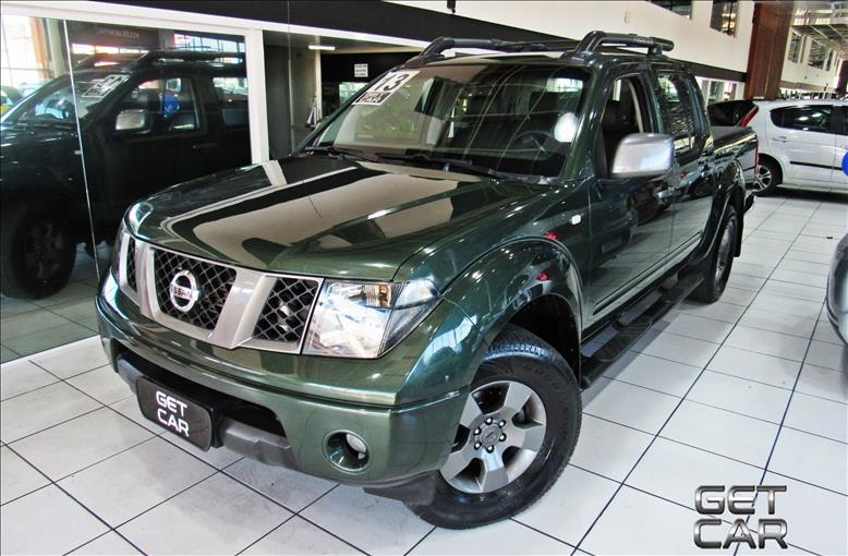 NISSAN FRONTIER 2.5 LE Attack 4X4 CD Turbo Eletronic