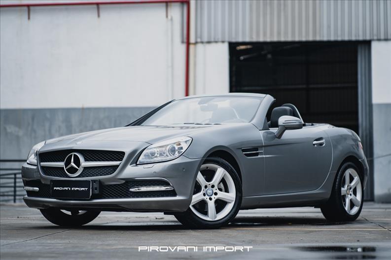 Mercedes-Benz-SLK 200-1.8 CGI GASOLINA 2P AUTOMÁTICO