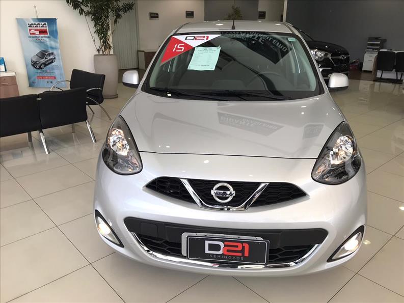 2015 Nissan MARCH 1.6 SL 16V