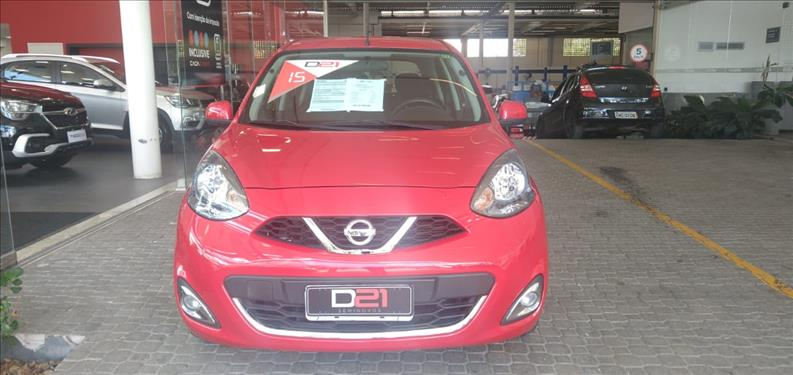 2015 Nissan MARCH 1.6 SL 16V