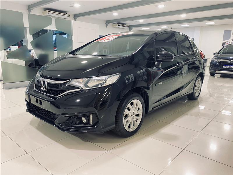 FIT   1.5 LX 16V  -      2018/2019   78000 km -      Flex   Preto