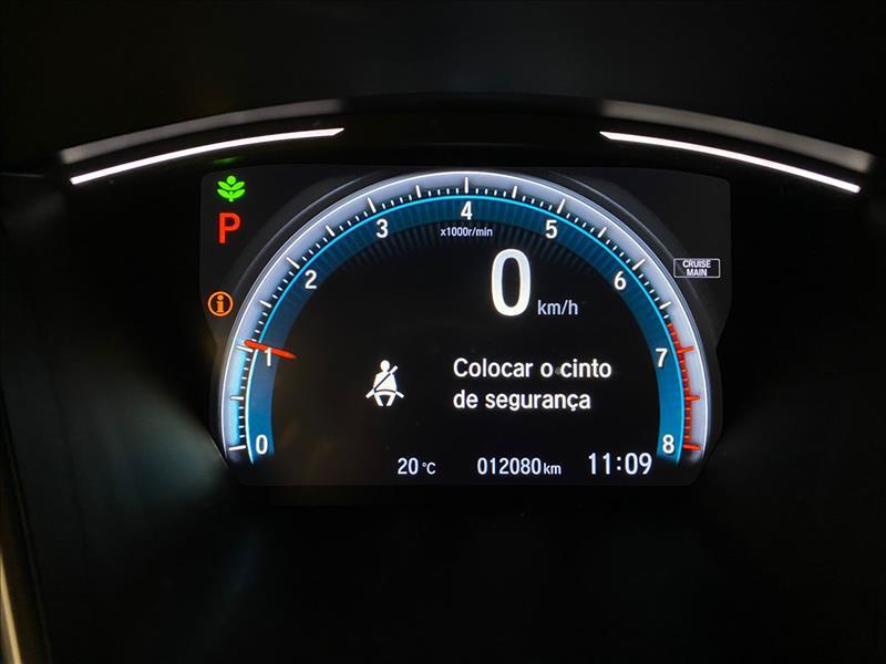 CIVIC   2.0 16vone EXL  -      2020/2020 | 12000 km -      Flex | Azul