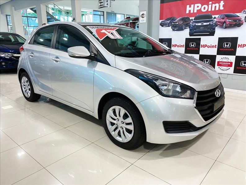 HB20   1.0 Comfort Plus 12V Turbo  -      									2017/2017 | 48000 km -      									Flex | Prata