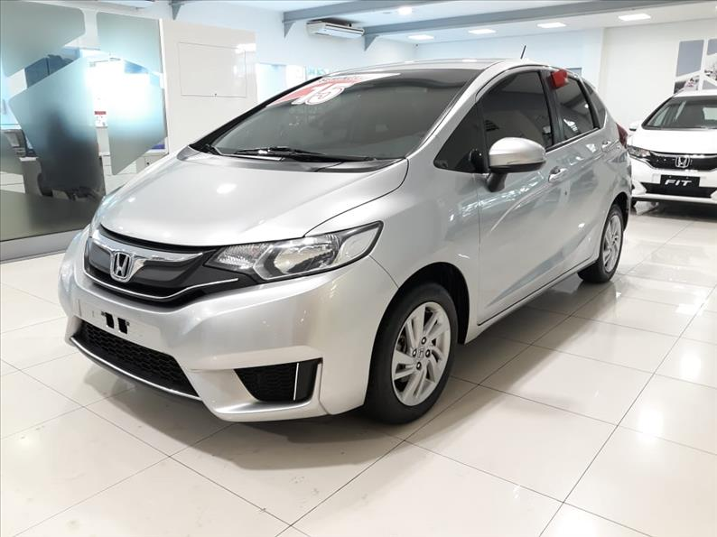 FIT   1.5 LX 16V  -      									2015/2015 | 61000 km -      									Flex | Prata