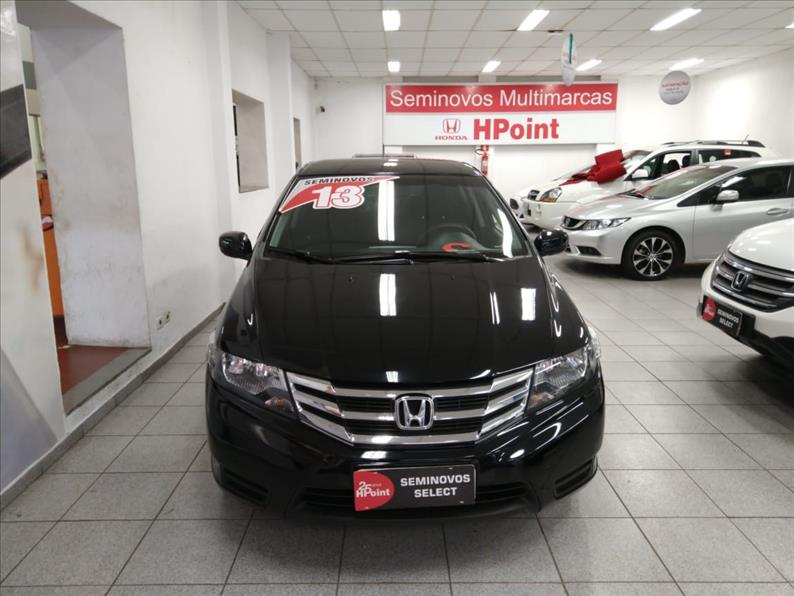 CITY   1.5 LX 16V  -      									2012/2013 | 92000 km -      									Flex | Preto