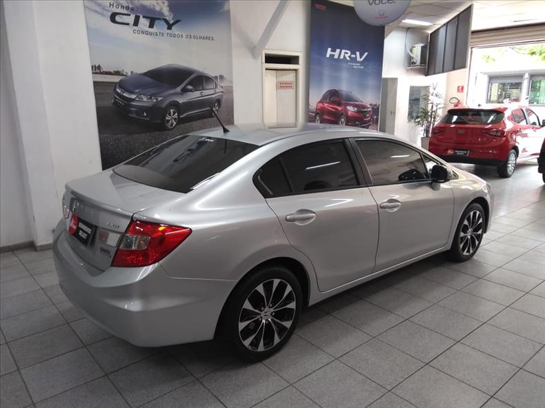 CIVIC   2.0 LXR 16V  -      									2014/2015 | 53700 km -      									Flex | Prata