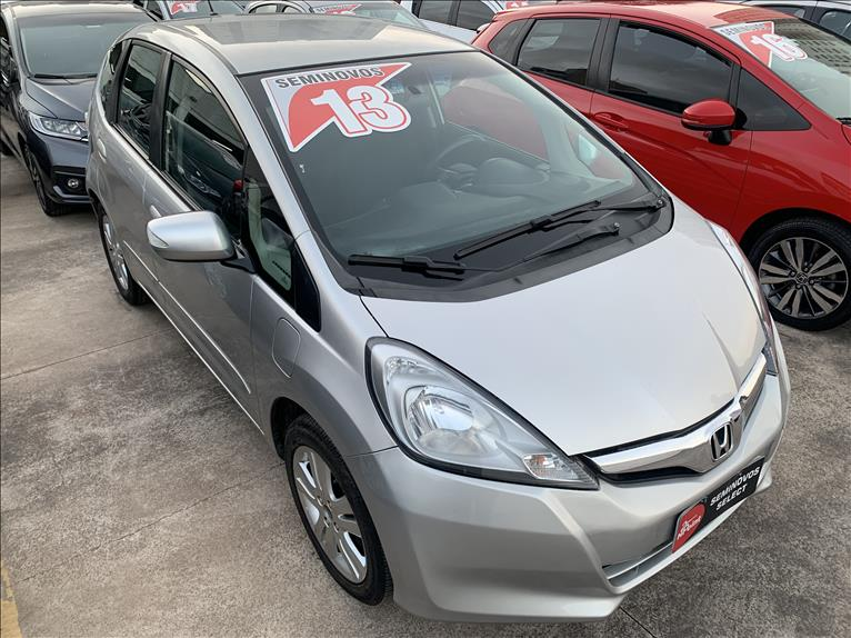 FIT   1.5 EX 16V  -      									2012/2013 | 73000 km -      									Flex | Prata