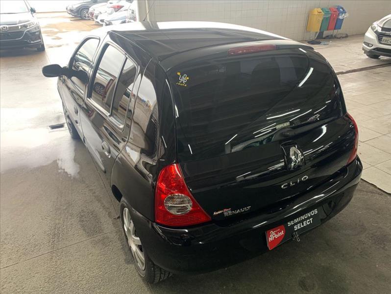 CLIO   1.0 Campus 16V  -      2011/2012 | 79980 km -      Flex | Preto