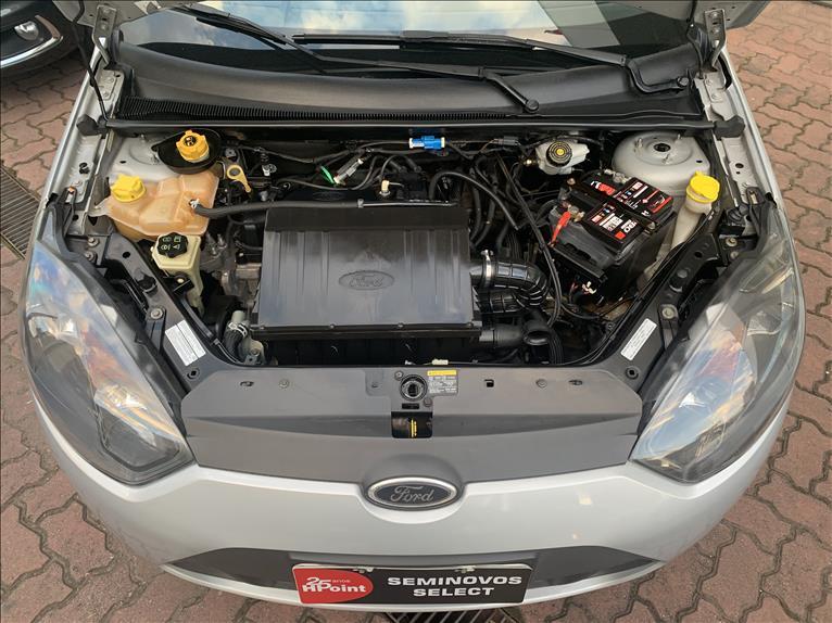 FIESTA   1.0 Rocam Hatch 8V  -      2012/2013   99000 km -      Flex   Prata