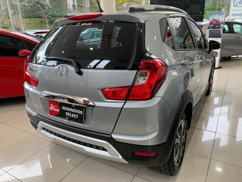 WR-V   1.5 16vone EXL  -      2018/2018   7000 km -      Flex   Prata